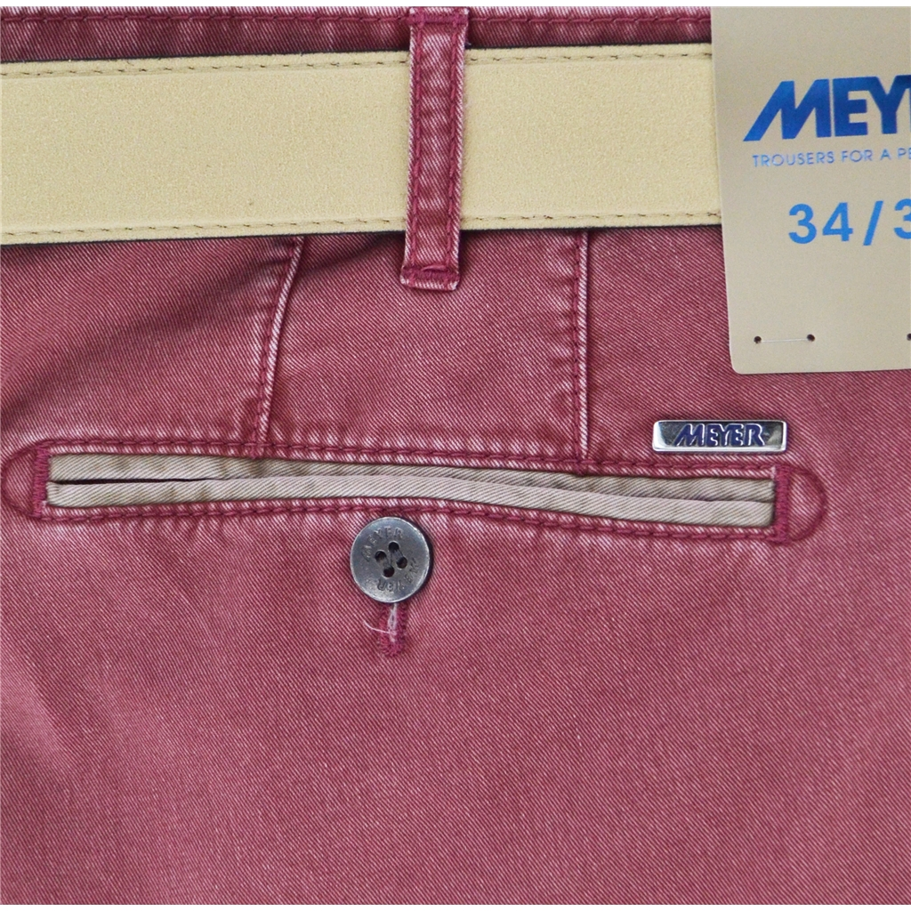 New 2020 Summer Meyer Shorts - Raspberry - Palma B 5001-55