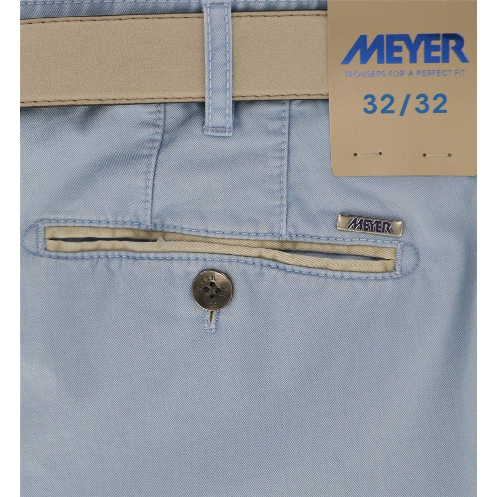 New 2020 Summer Meyer Shorts - Sky - Palma B 5001-14
