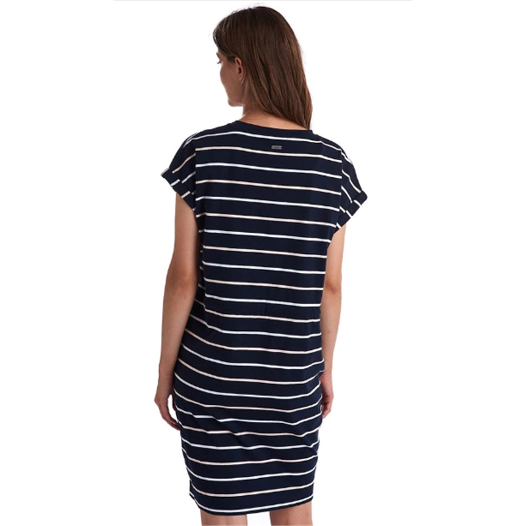 New 2020 Barbour International Marlos Dress - Navy