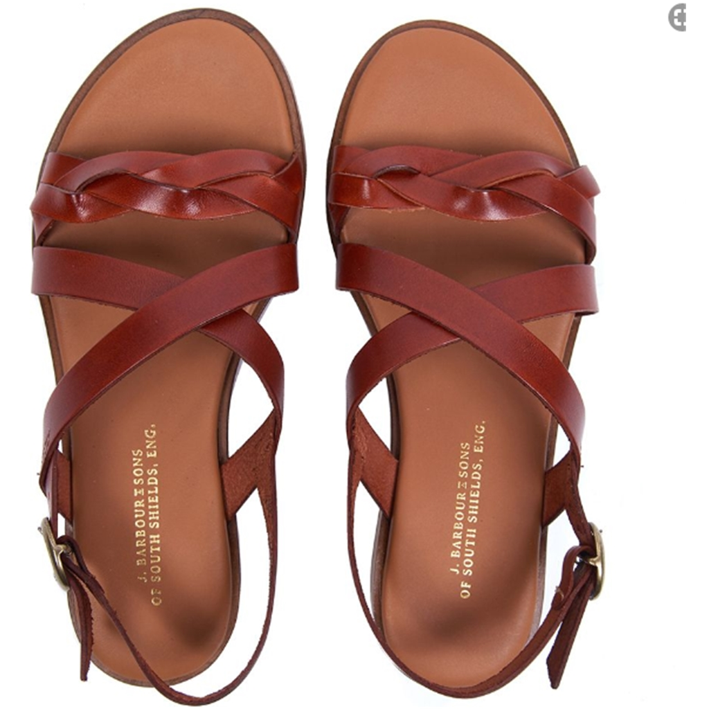 New 2020 Barbour Freya Sandals - Tan