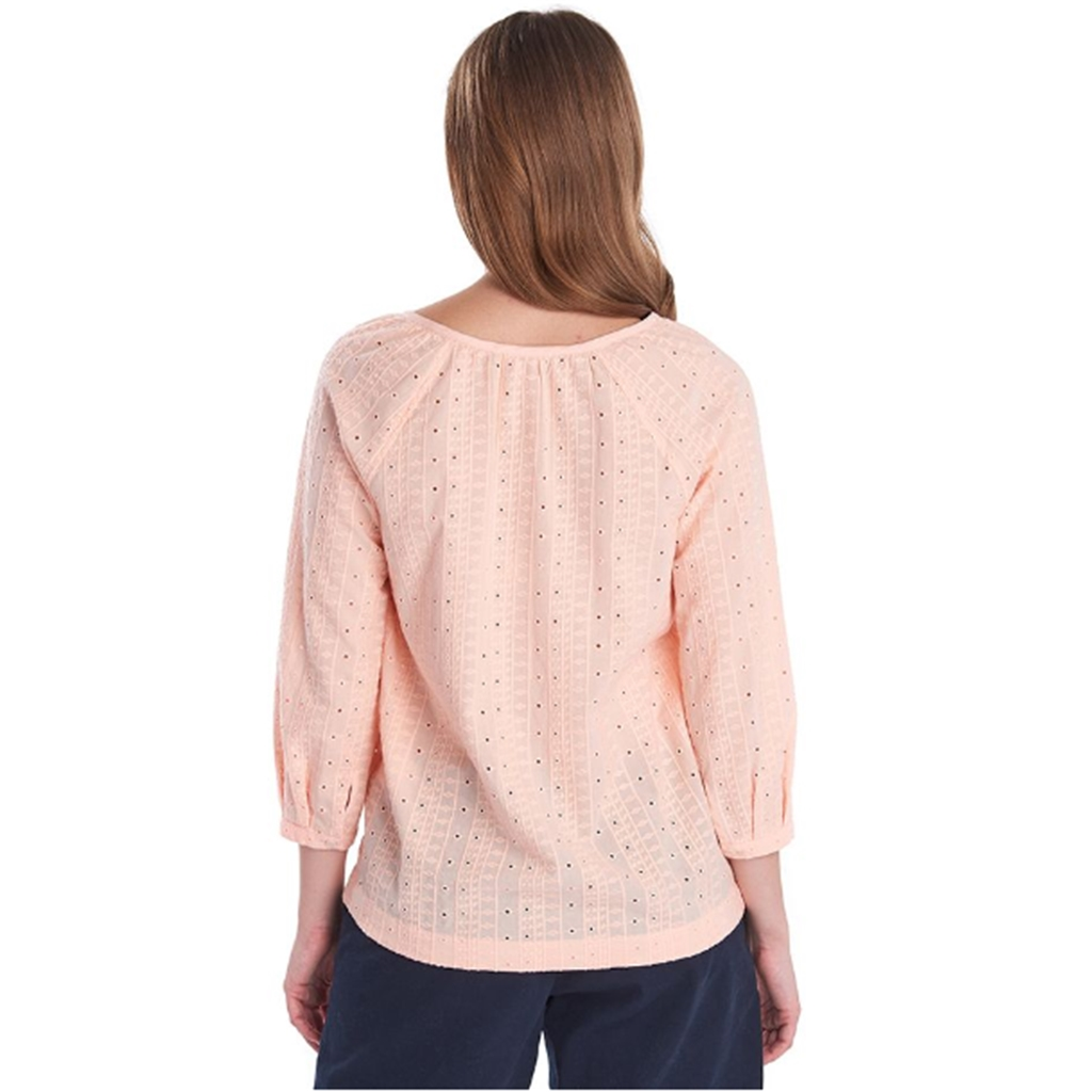 New 2020 Barbour Overboard Top - Pale Coral