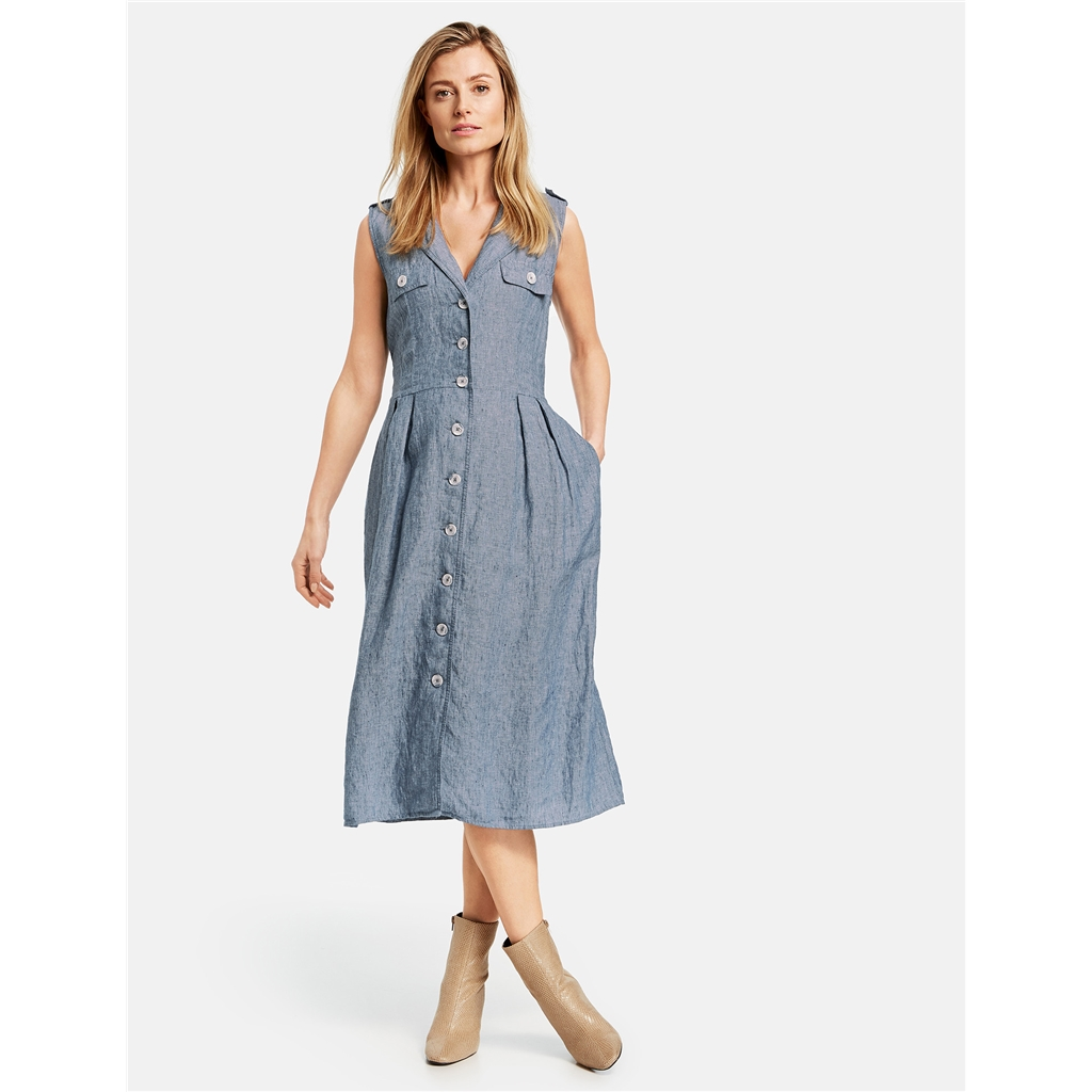 New 2020 Gerry Weber Casual Desert Dress - Blue
