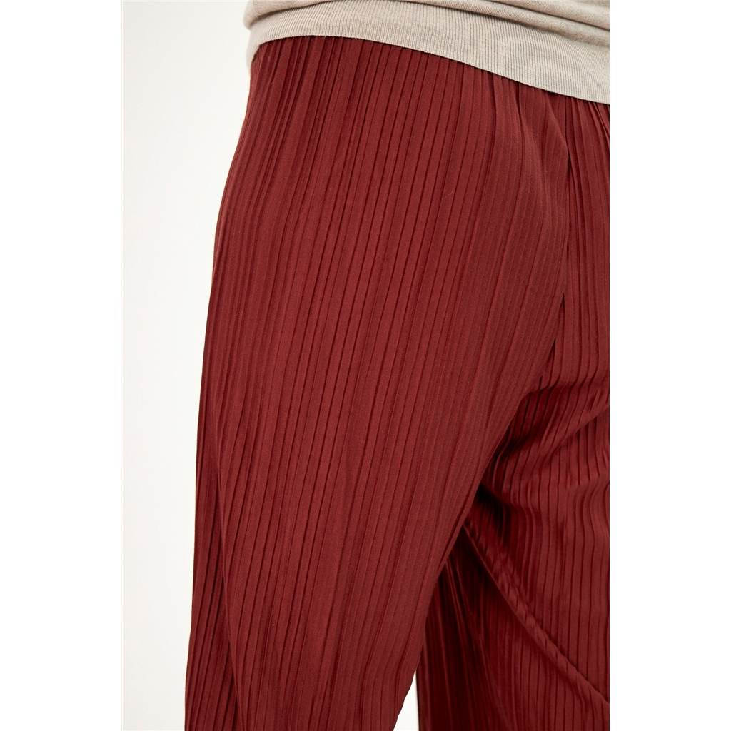 Soya Concept Ribbed Culottes - Red