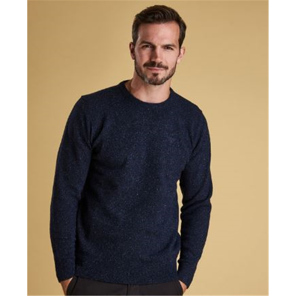 New 2020 Autumn Barbour Tisbury Sweater - Navy