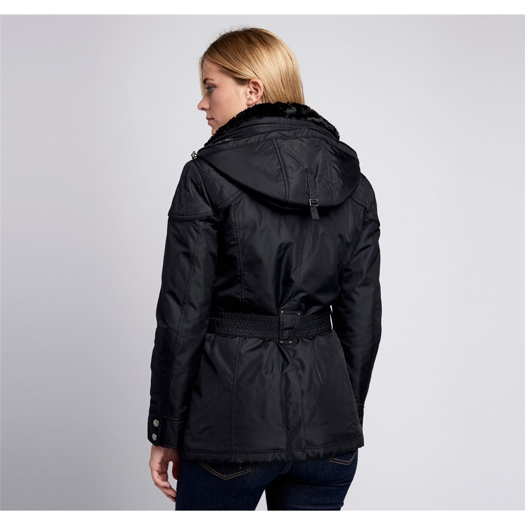 New 2020 Barbour International Outlaw Jacket - Black
