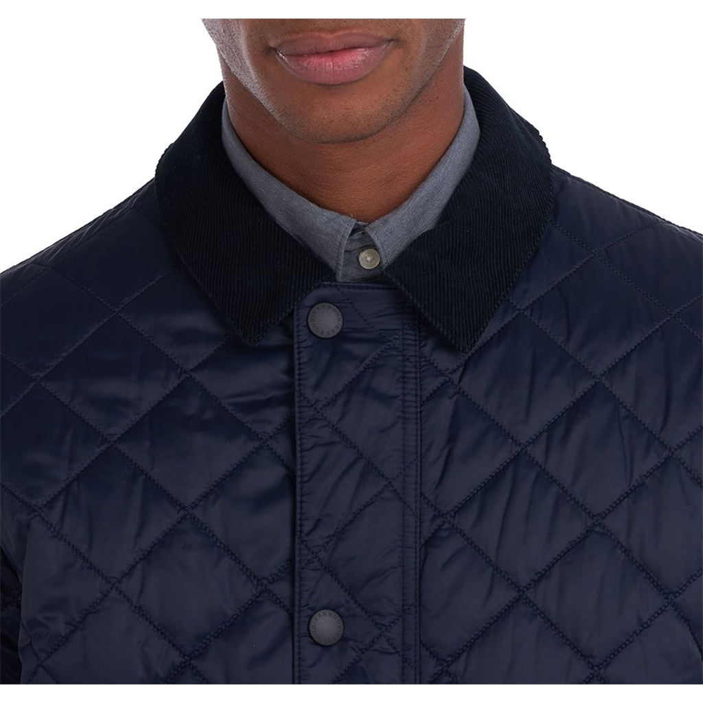 New 2021 Barbour Diggle Quilt - Navy