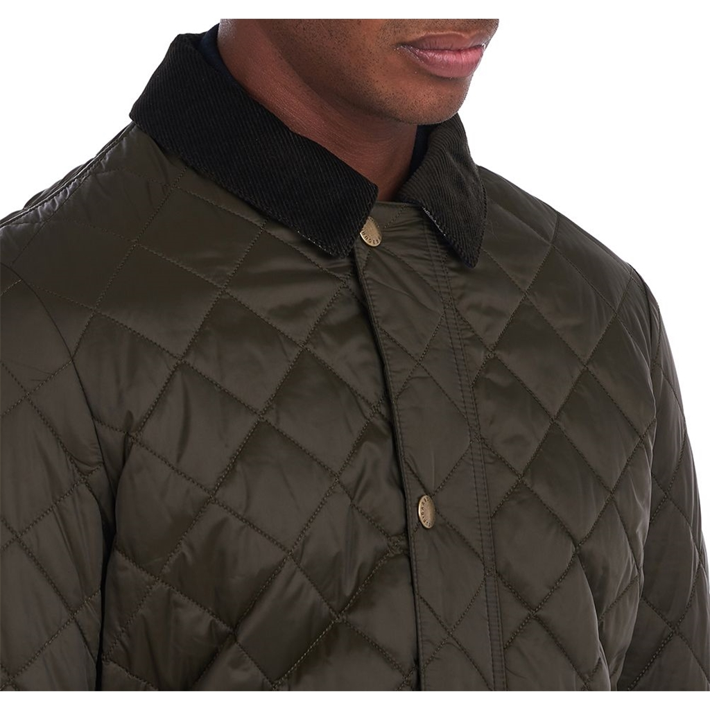 New 2021 Barbour Diggle Quilt - Olive