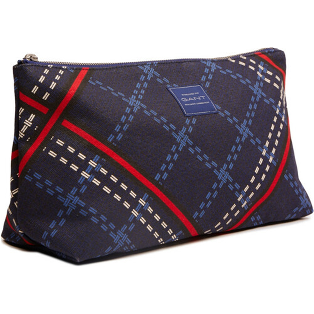 New 2020 Gant Signature Weave Washbag - Crisp Blue