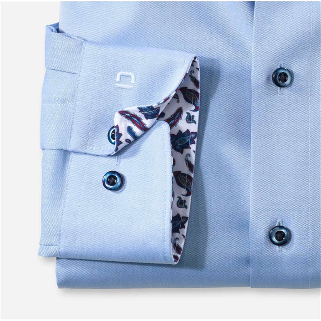 Olymp Luxor Modern Fit Shirt - Sky Blue