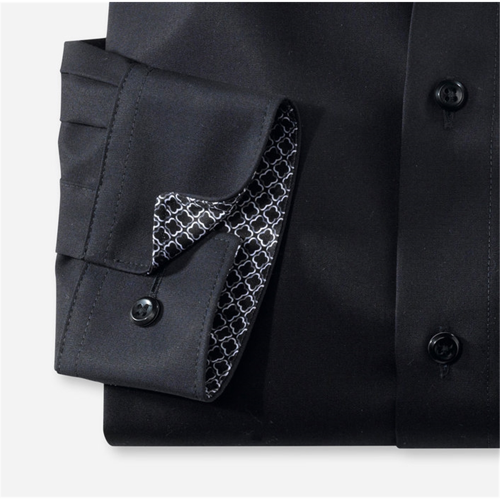 Olymp Luxor Modern Fit Shirt - Black
