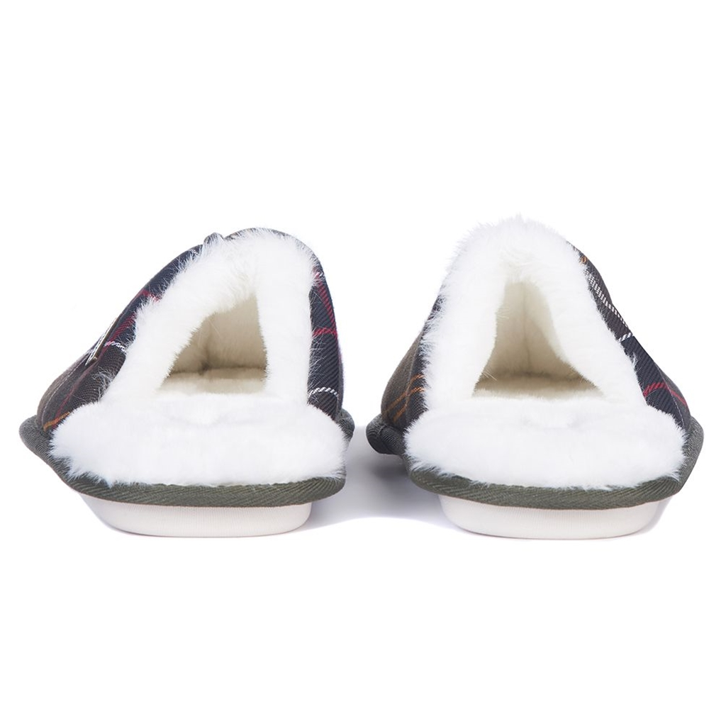 Barbour Maddie Slippers - Classic Tartan