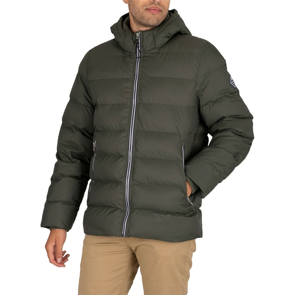 New 2020 Gant Active Cloud Jacket - Thyme Green