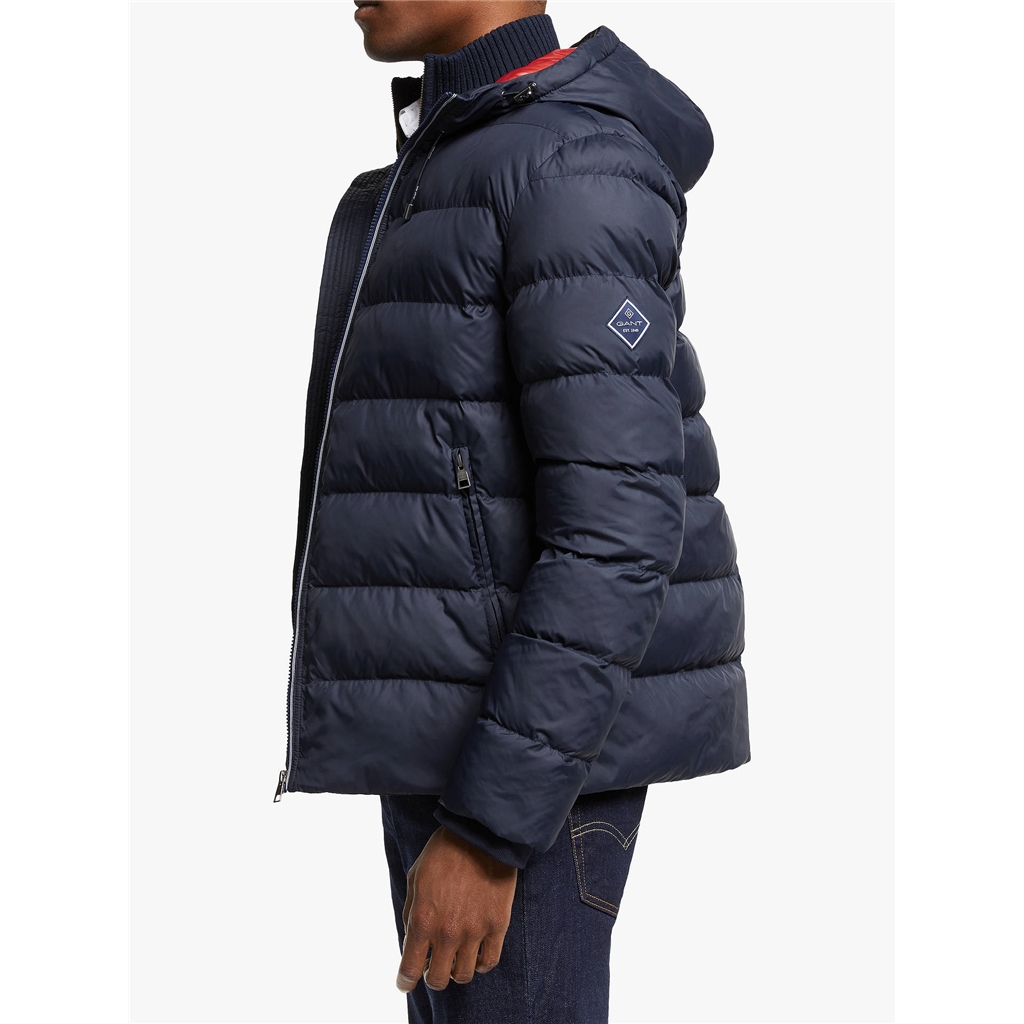 New 2020 Gant Active Cloud Jacket - Navy