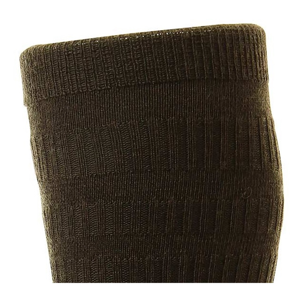 HJ Hall Men's Wool Softop Socks - Brown