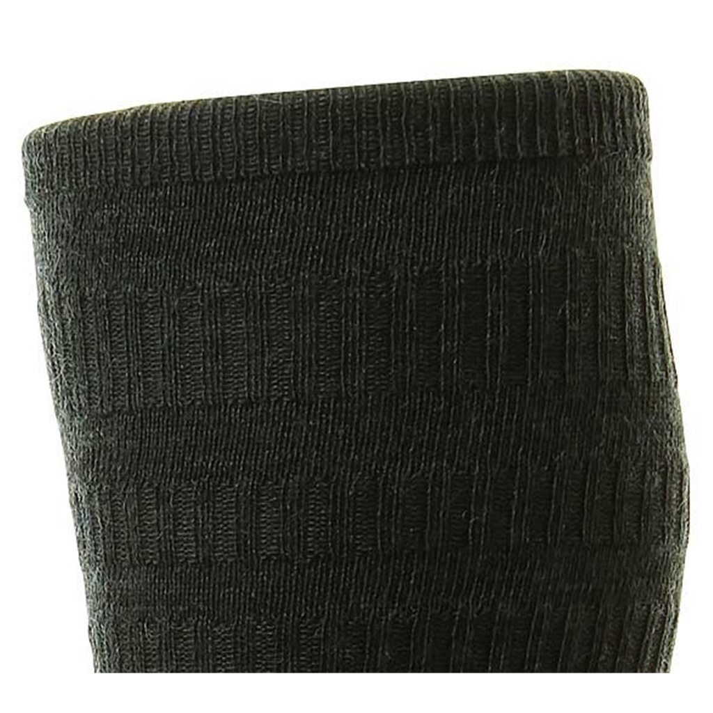 HJ Hall Men's Wool Softop Socks - Charcoal