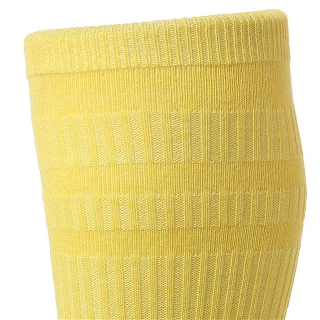 HJ Hall Men's Cotton Softop Socks - Maize