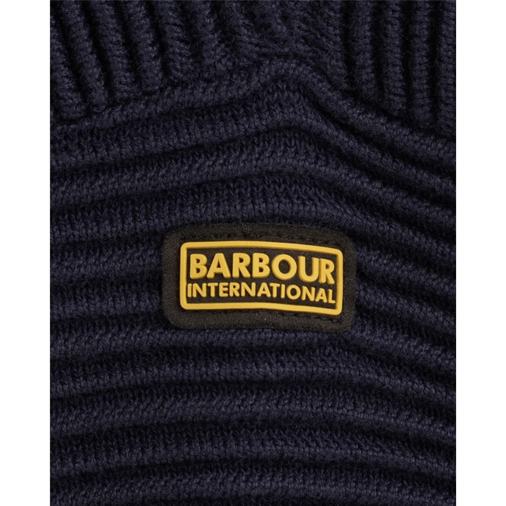 Spring 2021 Barbour International Delta Knit - Navy