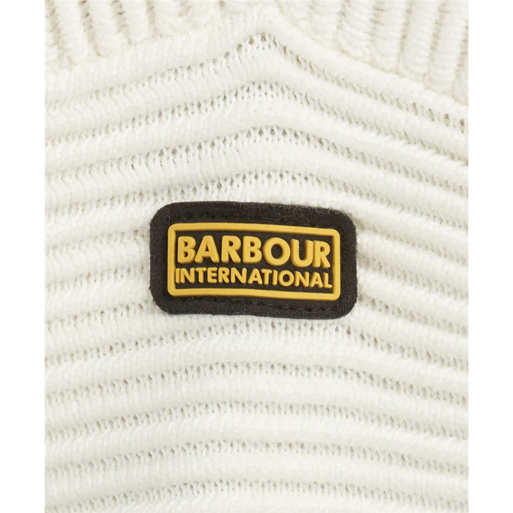 Spring 2021 Barbour International Delta Knit - Off White