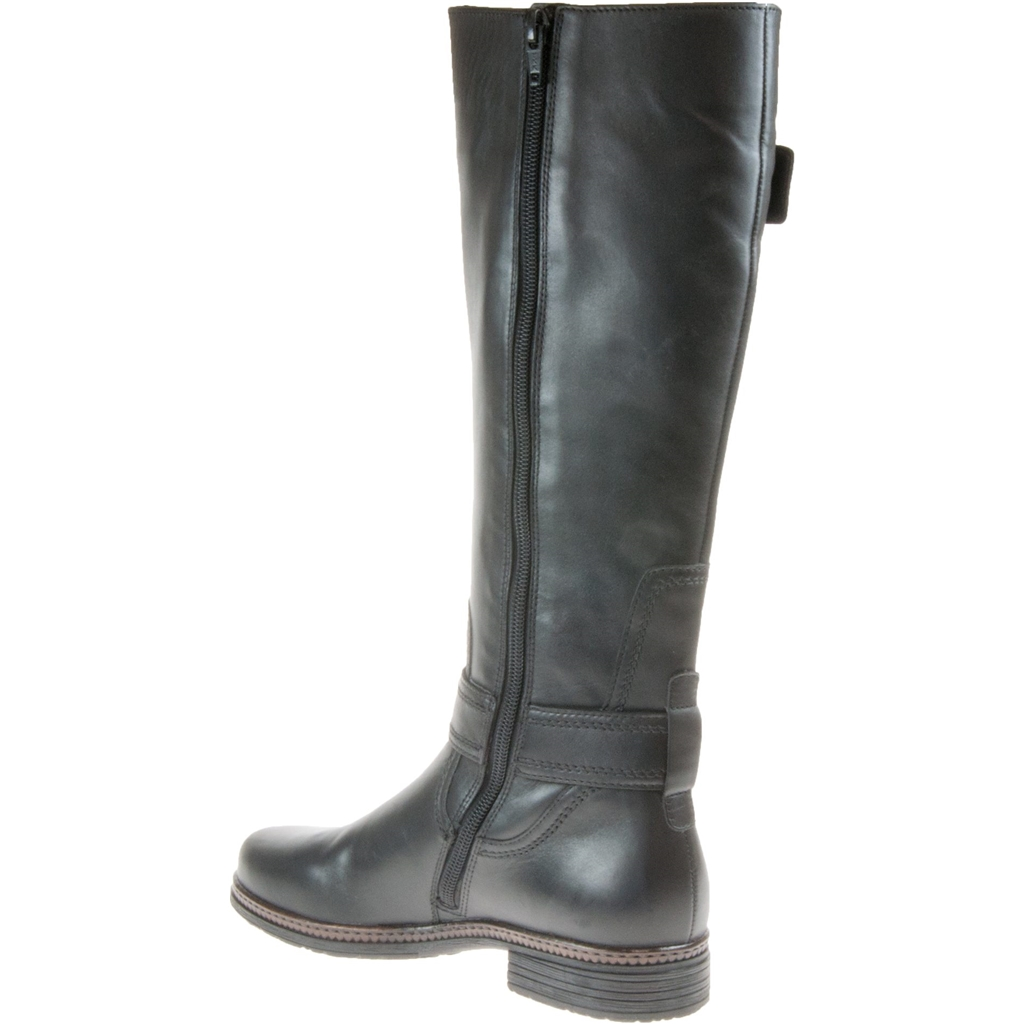 Gabor Nevada Long Boot - Black