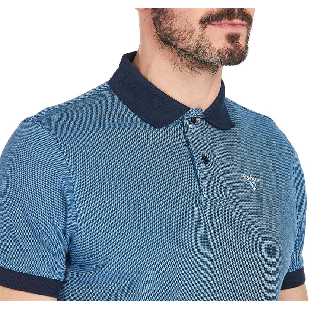 Spring Barbour 2021 Men's Sports Polo - Mix Navy