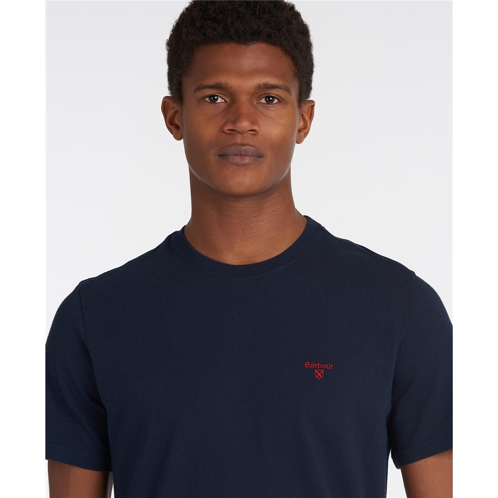Spring Barbour 2021 Men's Sports Tee - Navy
