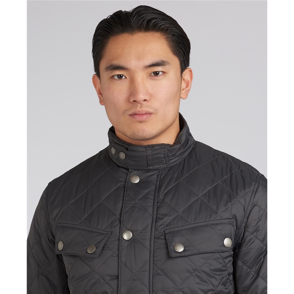 Barbour 2021 Men's International Ariel Quilt - Black