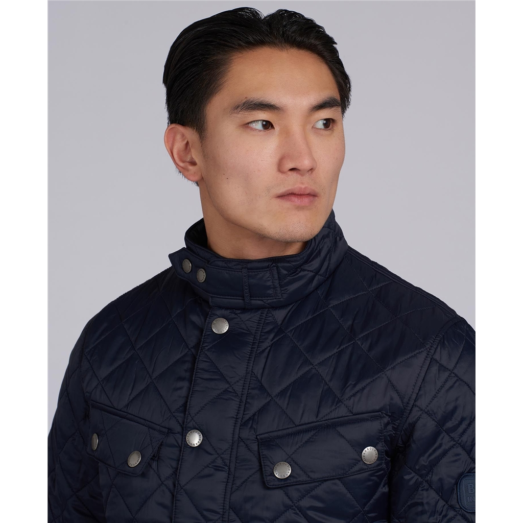 Barbour 2021 Men's International Ariel Quilt -Navy