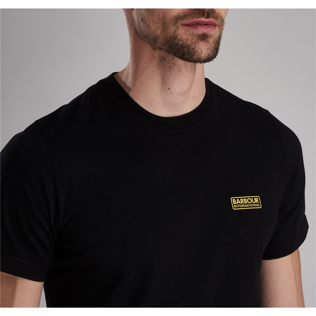 Barbour 2021 Men's International Small Logo Tee - Black