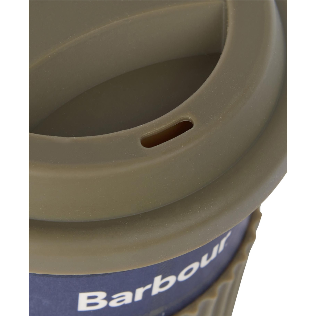 Barbour 2021 Tartan Travel Mug - Sage