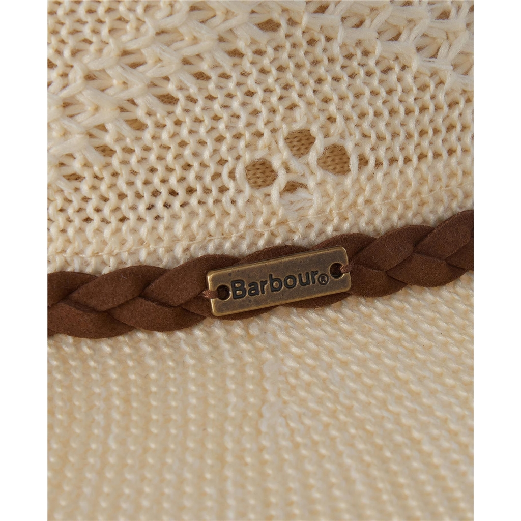 Spring Barbour 2021 Floweral Trilby Hat - Cream