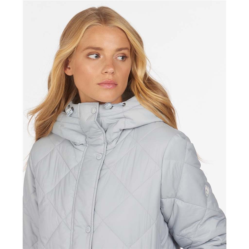Spring 2021 Barbour Tynemouth Quilt - Grey