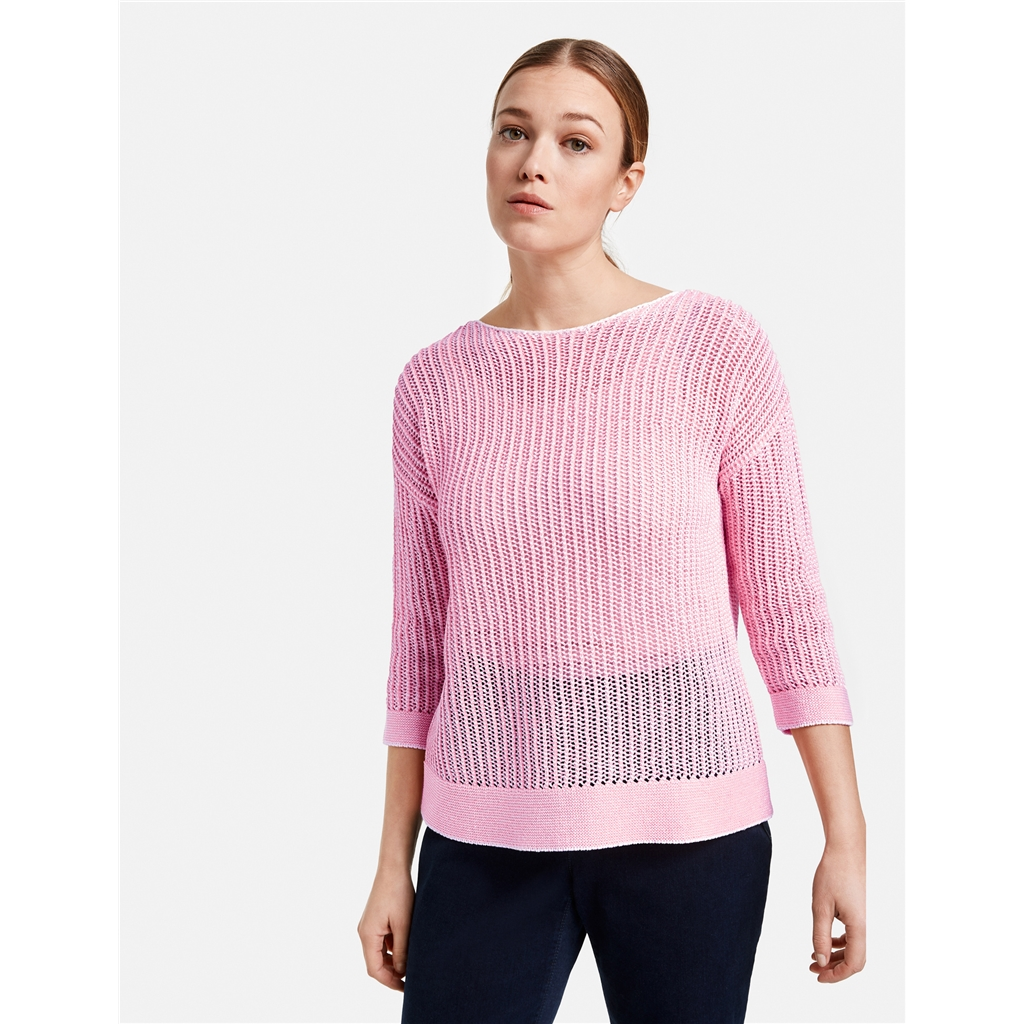Gerry Weber Two Tone Jumper - Candied