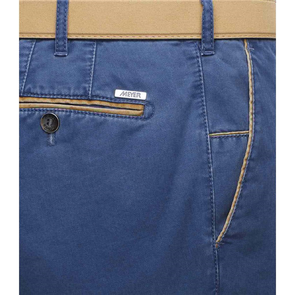 New 2021 Summer Meyer Cotton Trouser - Blue  - New York 5001 18