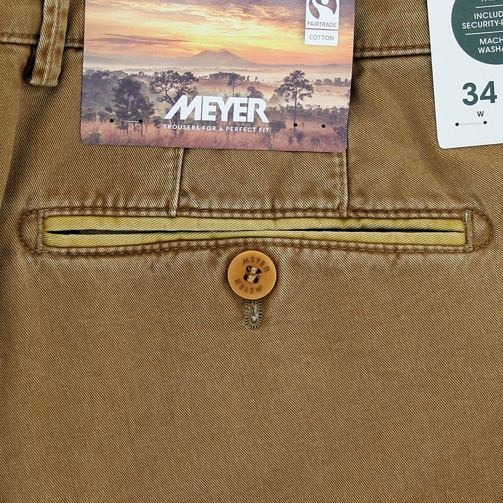 New 2021 Summer Meyer Cotton Trouser - Tan  - New York 5001 47
