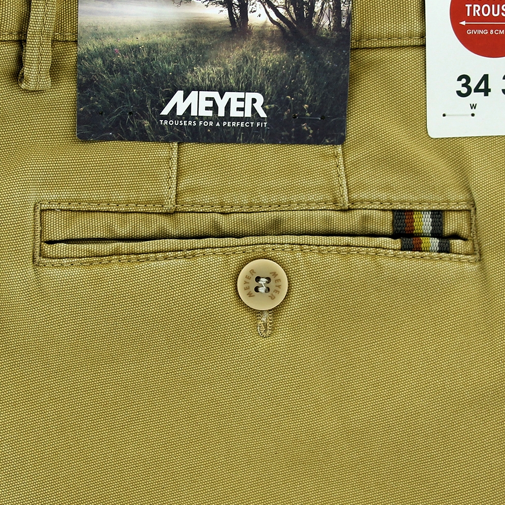 New 2021 Meyer  Soft Cotton Canvas Trouser - Corn - Oslo 3132 43