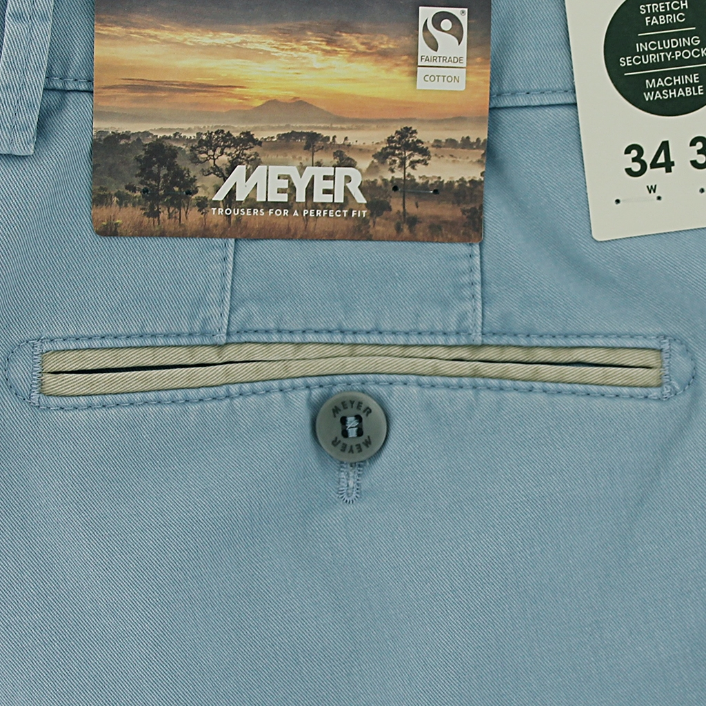 New 2021 Summer Meyer Shorts - Sky - Palma B 5001-14