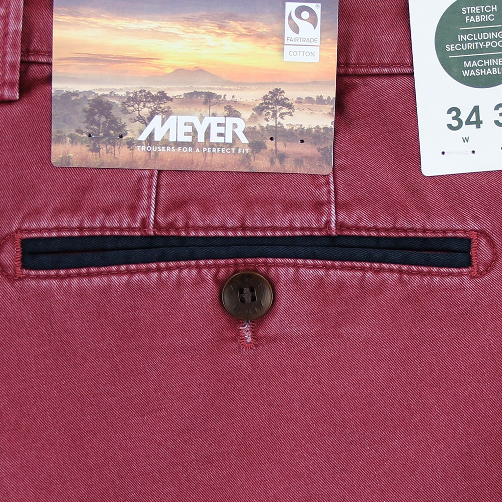 New 2021 Summer Meyer Shorts - Red  - Palma B 5001-56
