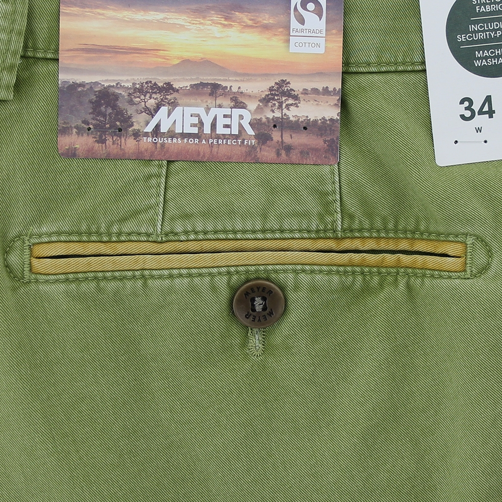 New 2021 Summer Meyer Shorts - Green  - Palma B 5001 22