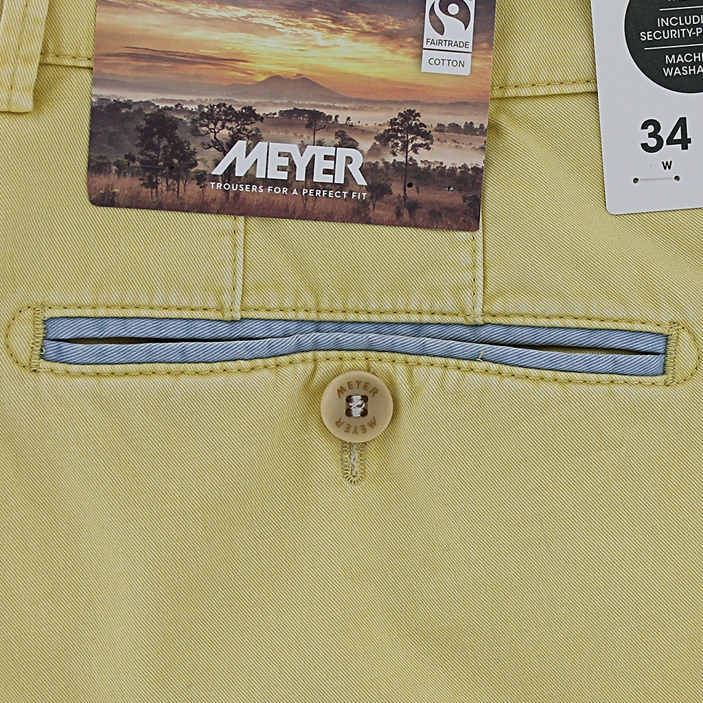 New 2021 Summer Meyer Shorts - Yellow - Palma B 5001 42