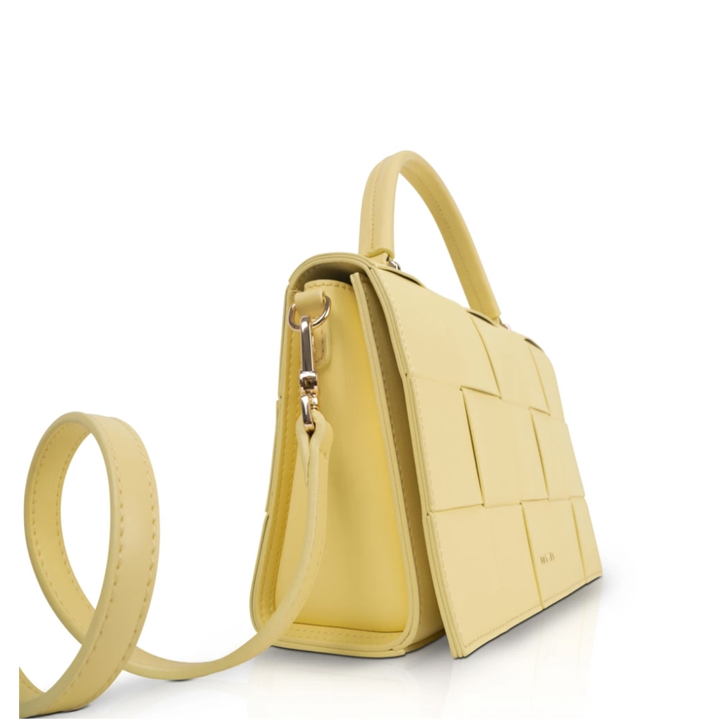 Inyati Patti Top Handle Bag - Lemon