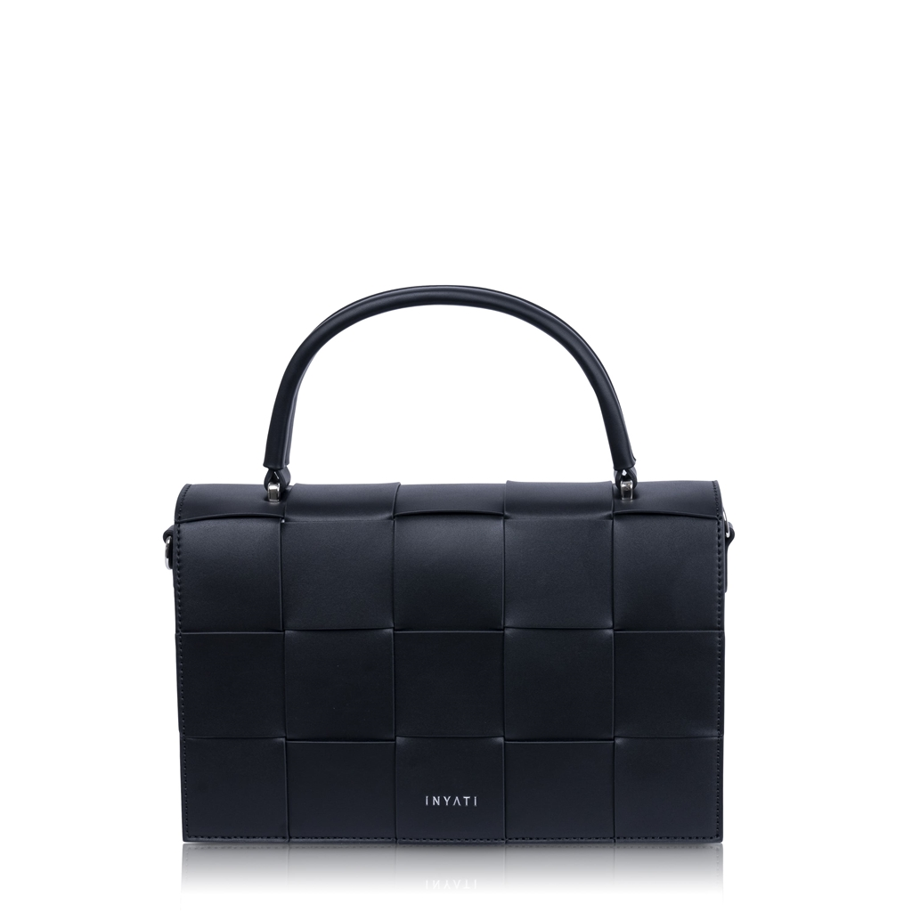 Inyati Patti Top Handle Bag - Black