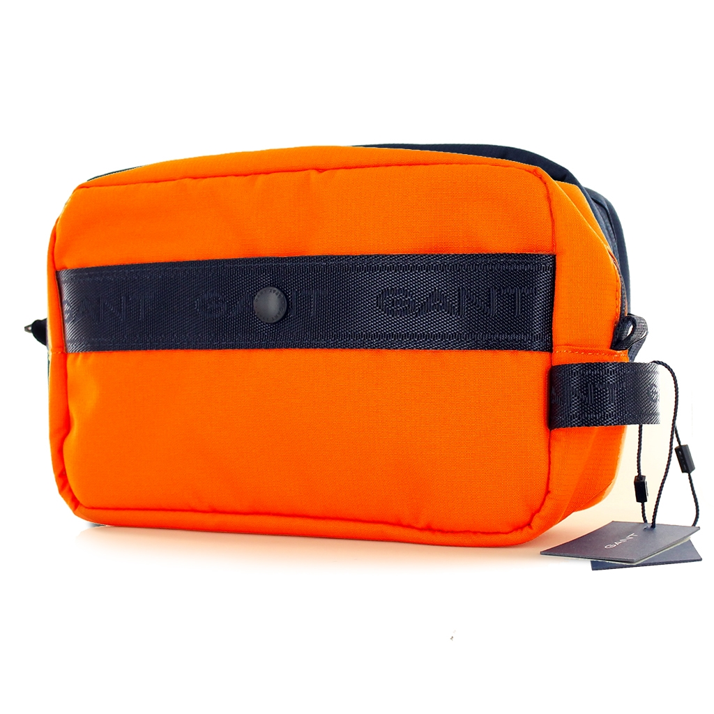 New 2021 Gant Sports Wash Bag - Russet Orange