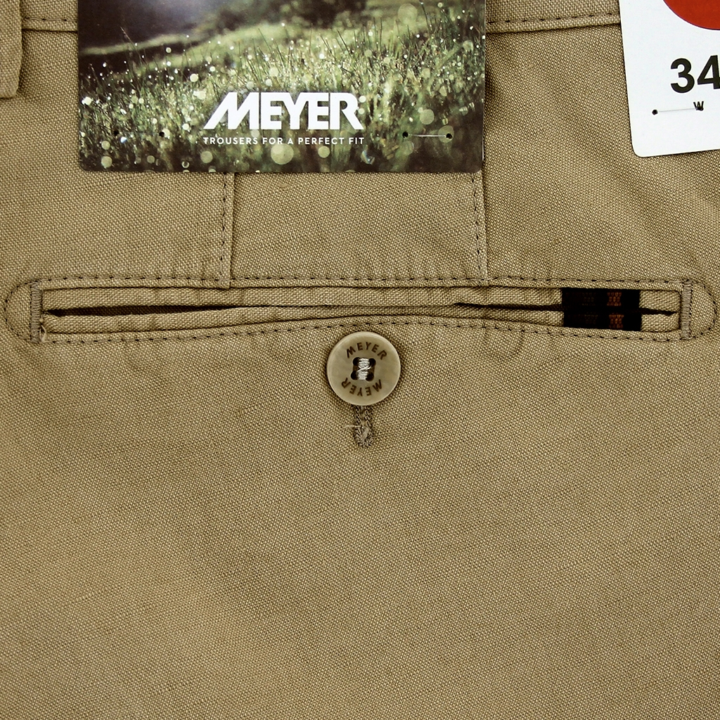New 2021 Summer Meyer Linen Shorts - Tan - Palma B 3131 42