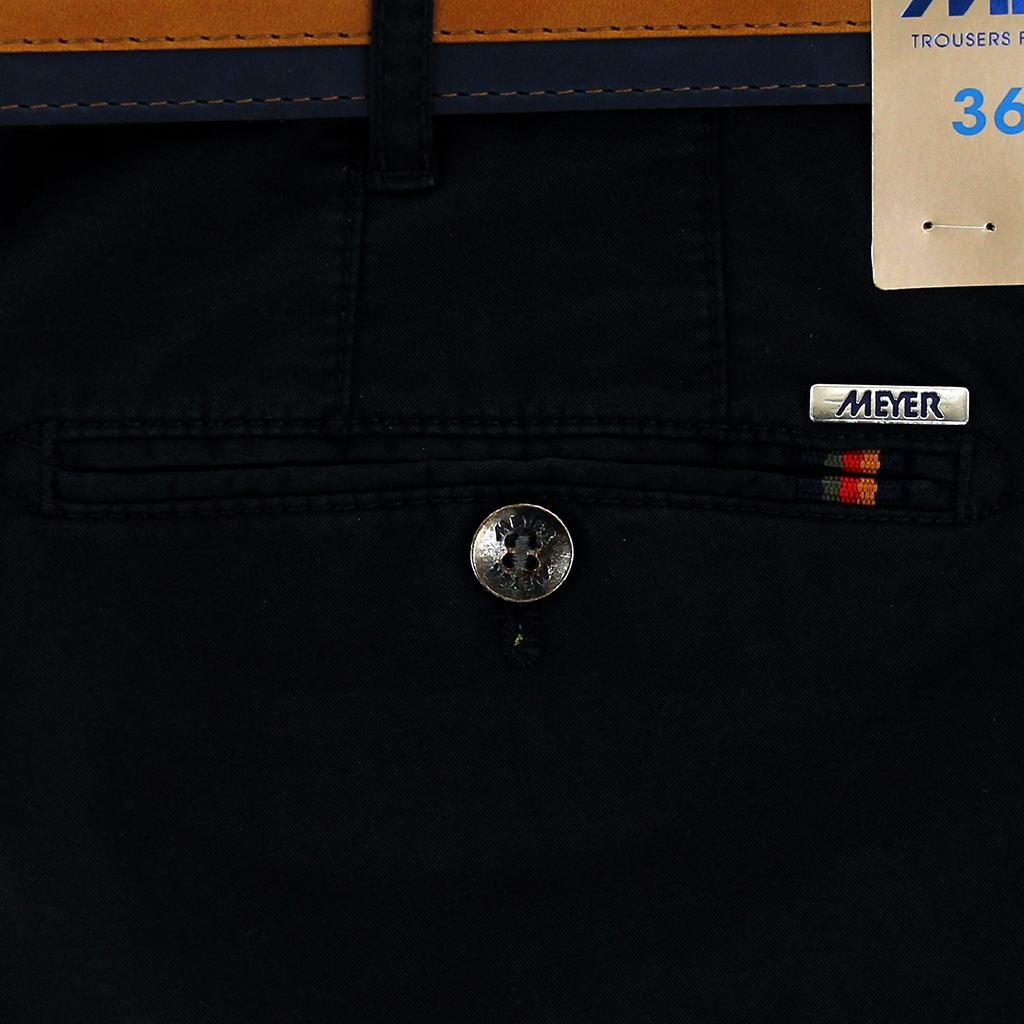 New 2021 Meyer Cotton Trouser - Navy - Rio 3120 19