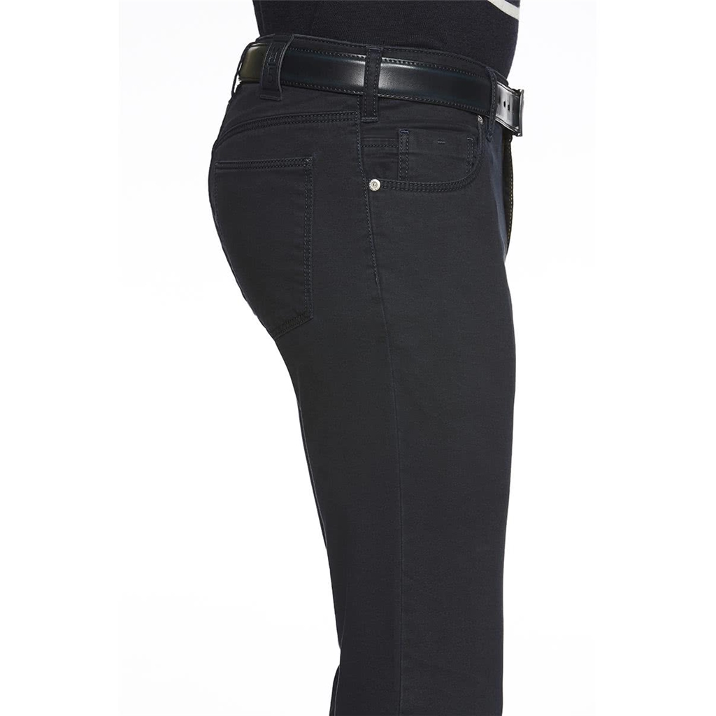 M5 By Meyer Super Stretch Pima Satin Jean - Navy 6106 19