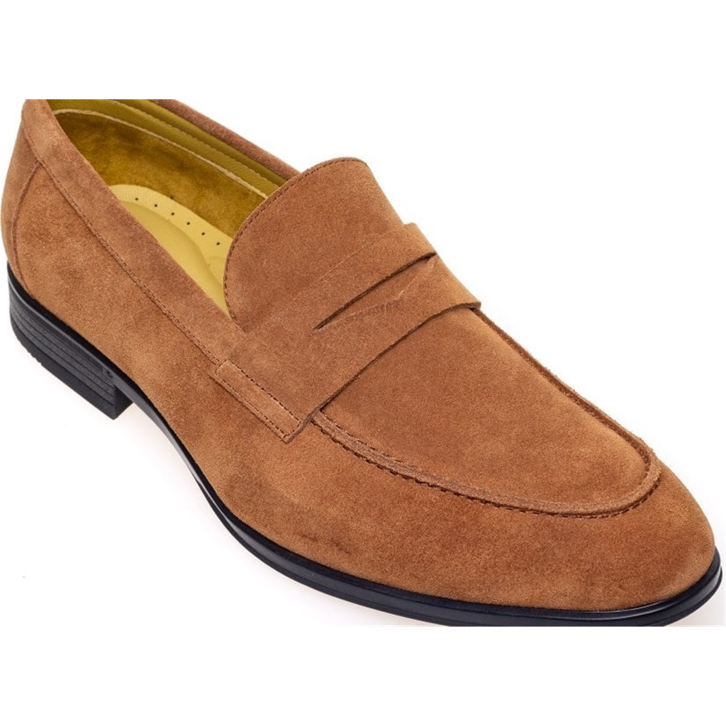 Steptronic Slip On Shoes - Frost - Ginger Suede