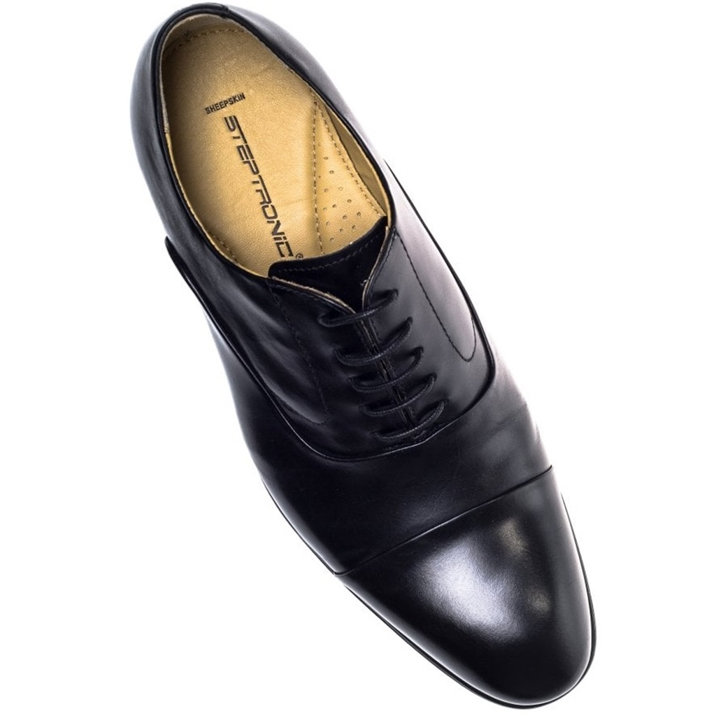 Steptronic Lace Up Oxford Shoes - Factor - Black
