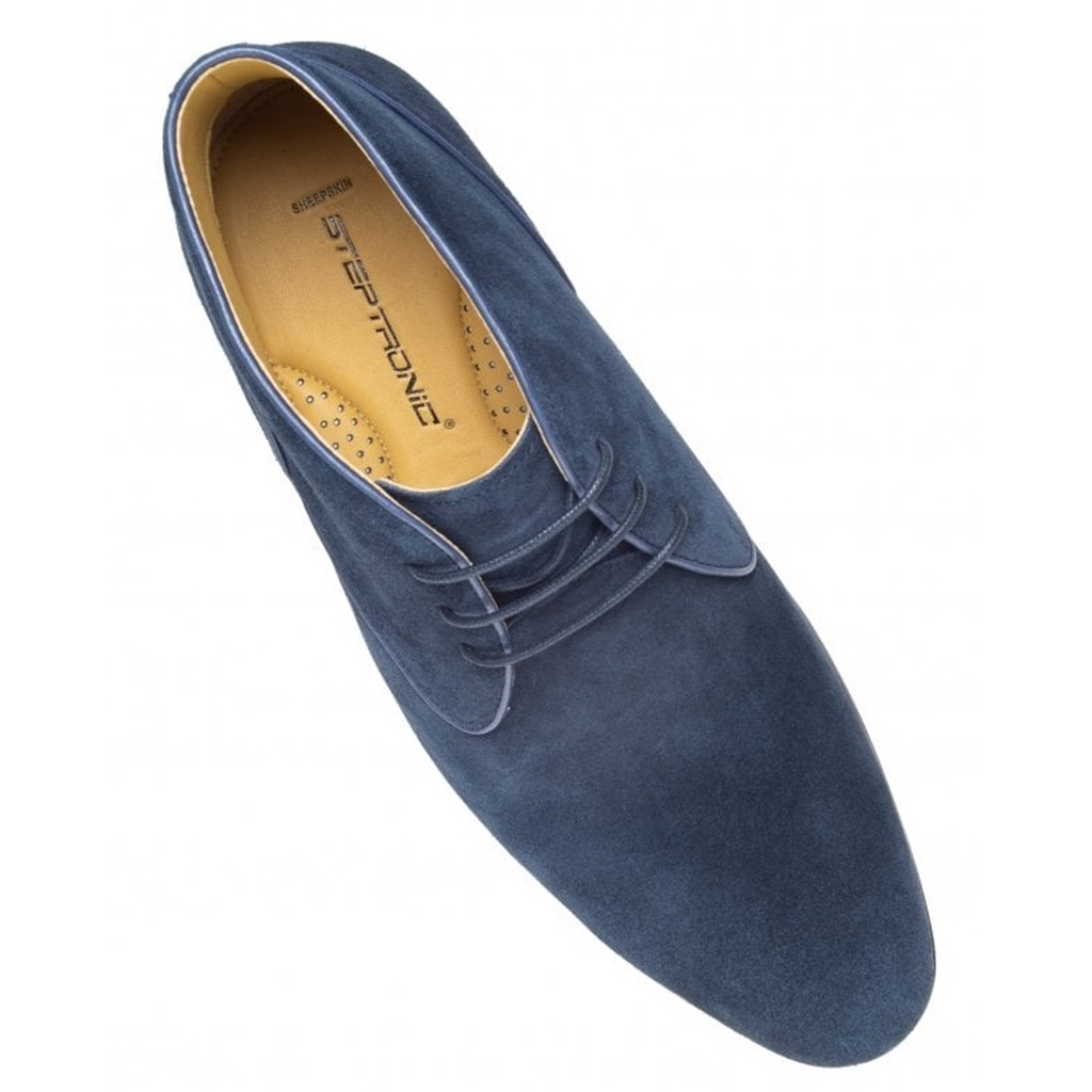 Steptronic Chukka Boots - Foster - Navy Suede
