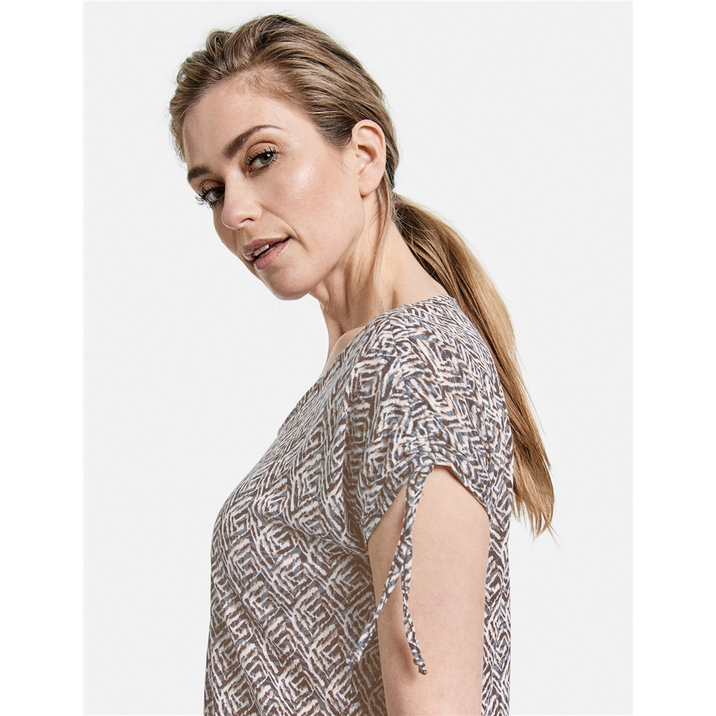 Gerry Weber Gathered Detail Top - Multi