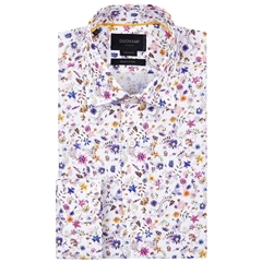 Duchamp Petit Floral Print Shirt - Size Medium Only
